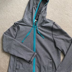 Talbots zipper yoga sweatshirt